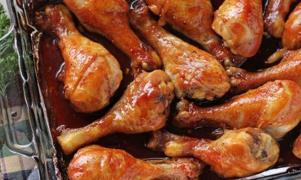 Νοστιμότατα καραμελωμένα μπουτάκια κοτόπουλου