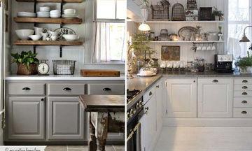 Deco: 20+5 vintage ιδέες για να διακοσμήσετε την κουζίνα σας