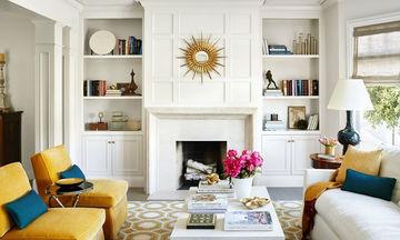 Έχετε τζάκι στο σπίτι; Δείτε απίθανες ιδέες διακόσμησης (pics)