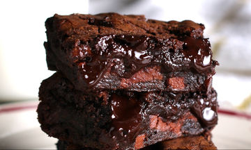 Σοκολατένια brownies: Τόσο αφράτα και τόσο νόστιμα!
