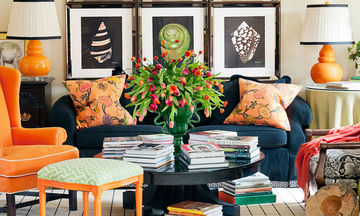 Πώς να διακοσμήσετε τους τοίχους του καθιστικού σας- 32 ιδέες για όλα τα γούστα