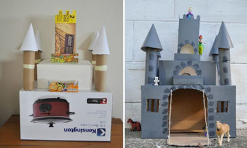 Δείτε τι έφτιαξαν γονείς για τα παιδιά τους με ένα απλό χαρτόκουτο (pics)