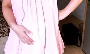 Γνωστή ηθοποιός εμφανίστηκε με φουσκωμένη κοιλίτσα αλλά διέψευσε ότι είναι έγκυος (pics + vid)