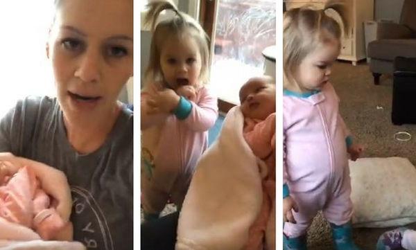 Έτσι είναι η πρώτη μέρα μιας μαμάς που μένει μόνη με τρία παιδιά στο σπίτι (video)