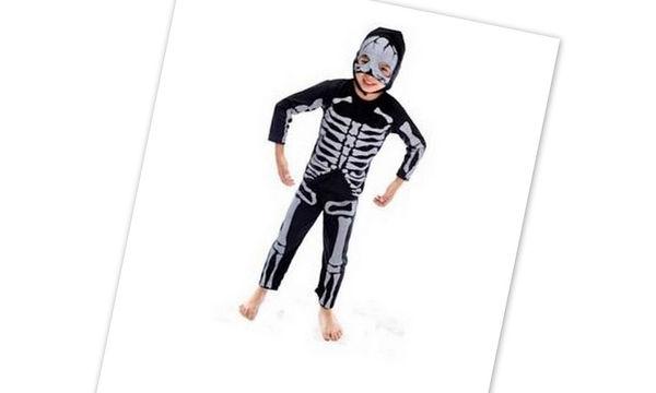 Αποκριάτικη στολή για αγόρια: Σκελετός