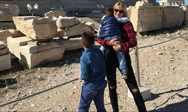 Η Φαίη Σκορδά αποκάλυψε τι θέλει να γίνει ο Γιαννάκης της όταν μεγαλώσει