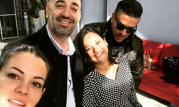 Γιάννης Αϊβάζης: Η πρώτη φωτογραφία αγκαλιά με τη νεογέννητη κόρη της Κατερίνας Τσάβαλου