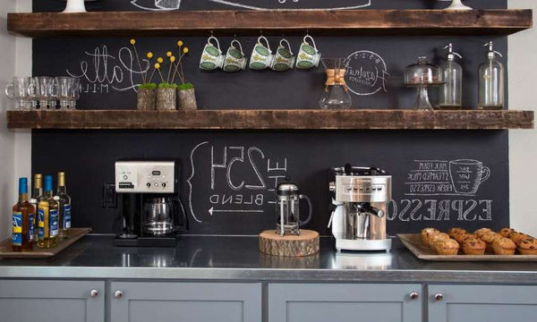 Coffee Station: Φτιάξτε τη δική σας γωνιά για καφέ στο σπίτι