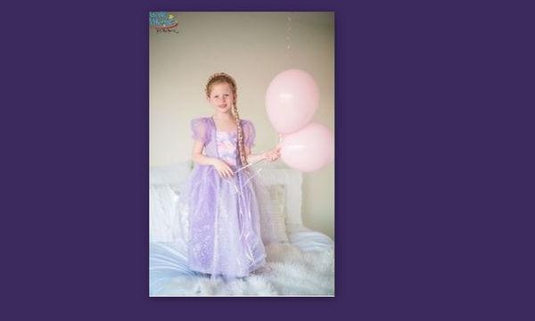Αποκριάτικη στολή για κορίτσια: Ραπουνζέλ