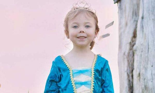 Αποκριάτικη στολή για κορίτσια: Μπλε πριγκίπισσα
