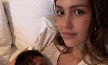 Η Jessica Alba είναι ξετρελαμένη με το γιο της - Οι νέες φωτογραφίες που ανέβασε στο Instagram