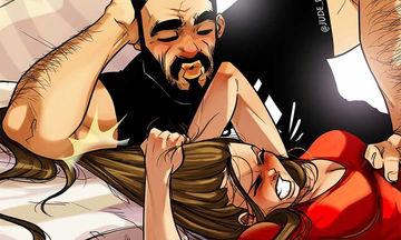 Καλλιτέχνης απεικονίζει την καθημερινότητα με τη σύζυγό του μέσα από χιουμοριστικά σκίτσα (pics)