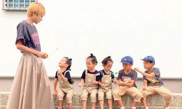 Απίστευτο! Η ζωή μίας μαμάς με τρίδυμα και δίδυμα παιδιά (pics)