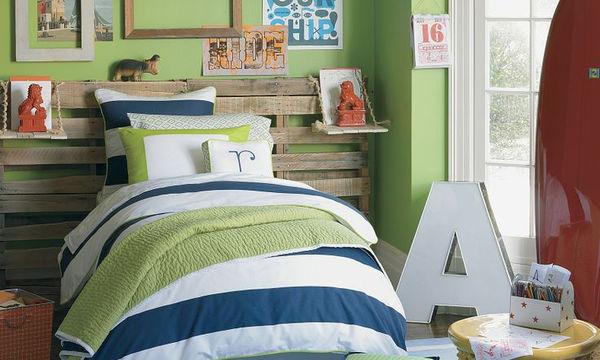 Deco: Επιλέξτε το πράσινο χρώμα για το παιδικό δωμάτιο