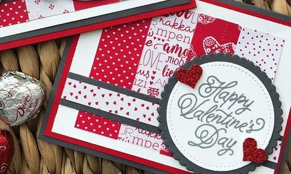 Φτιάξτε μόνες σας υπέροχες κάρτες για την Ημέρα του Αγίου Βαλεντίνου (video)