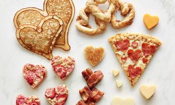 Εννέα συνταγές σε σχήμα καρδιάς για την ημέρα του Αγίου Βαλεντίνου