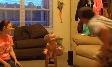 Οι πιο απολαυστικοί καβγάδες μεταξύ παιδιών και μπαμπάδων είναι αυτοί (video)
