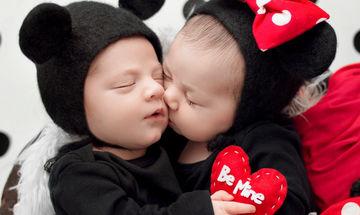 Η πιο τρυφερή φωτογράφιση για την Ημέρα των Ερωτευμένων είναι αυτή