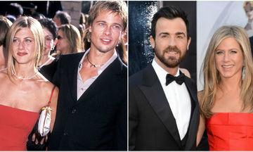 Jennifer Aniston με Brad Pitt vs Jennifer Aniston με Justin Theroux: Εσείς με ποιον την προτιμούσατε