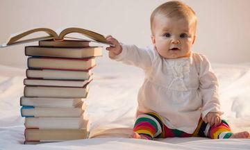 Ποια είναι τα καταλληλότερα βιβλία για βρέφη 6-12 μηνών;