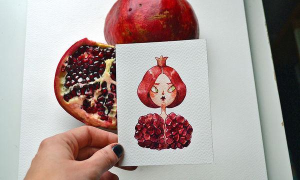Καλλιτέχνης δίνει ανθρώπινη μορφή σε φρούτα και το αποτέλεσμα είναι εντυπωσιακό (pics)