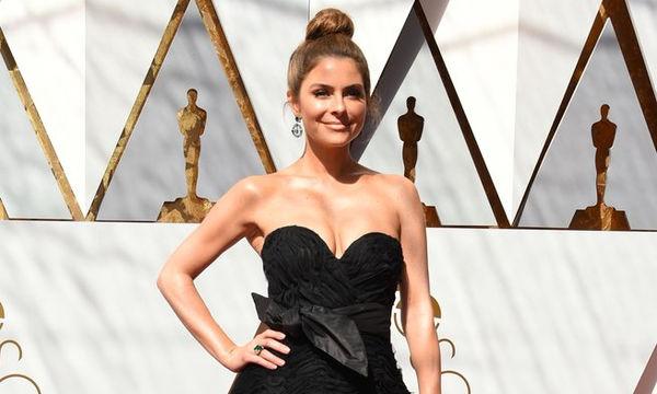 Η Maria Menounos με φόρεμα Ελληνίδας σχεδιάστριας και τον πιο ωραίο κότσο στα φετινά Oscars!