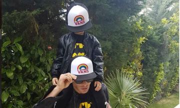 Ο γιος του παρουσιαστή έχει γενέθλια και του ευχήθηκε με τον πιο τρυφερό τρόπο (pics)
