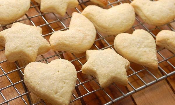 Νόστιμα και τραγανά μπισκότα  βανίλιας