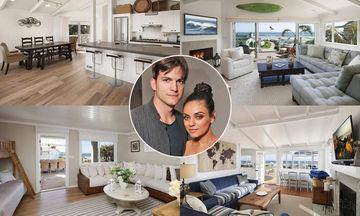 Mila Kunis-Ashton Kutcher: Δείτε για πρώτη φορά φωτογραφίες από το εσωτερικό του σπιτιού τους