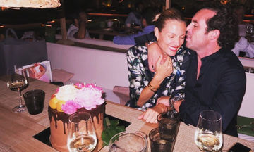 Βίκυ Καγιά: Η φωτογραφία με τη Bianca και τον Ηλία Κρασσά που δημοσίευσε αργά το βράδυ στο Instagram