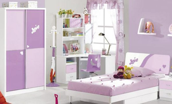 Deco: Είκοσι προτάσεις για λιλά παιδικό δωμάτιο