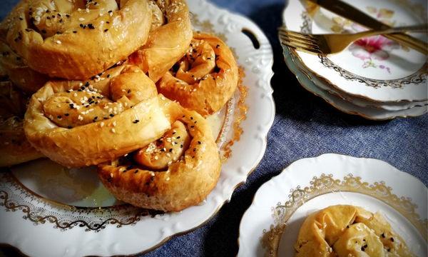 Σουσαμοπιτάκια: νόστιμα και νηστίσιμα