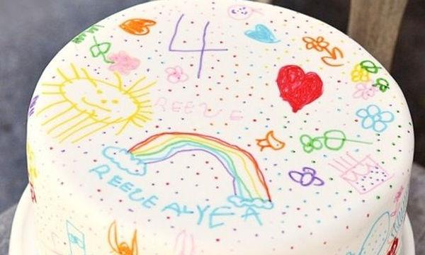 Πώς να σχεδιάσετε την τούρτα γενεθλίων του παιδιού σας (video)