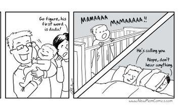 Ο πρώτος χρόνος της μητρότητας, μέσα από 10 σκίτσα που θα σας βρουν σύμφωνες (pics)