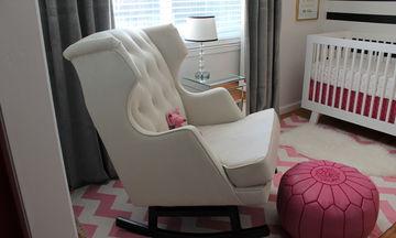 Πολυθρόνα θηλασμού: Τριάντα ιδέες για το βρεφικό δωμάτιο