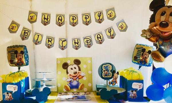 Τριάντα ιδέες για τα πρώτα γενέθλια του παιδιού σας, εμπνευσμένες από παιδικές ταινίες (pics)