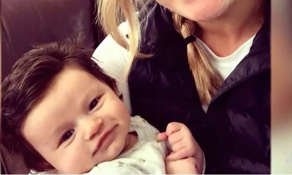 Γνωρίστε το μωρό που γεννήθηκε με τα ωραιότερα μαλλιά που έχουμε δει ποτέ! (vid)