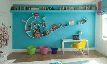 Ράφια για παιδικό δωμάτιο: Είκοσι τρεις μοναδικές ιδέες