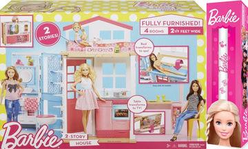 Ιδέες για πασχαλινή λαμπάδα: Κοριτσίστικη λαμπάδα Barbie Σπιτάκι-Βαλιτσάκι