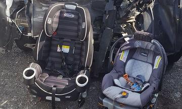 Για αυτό το λόγο πρέπει να τοποθετείτε και να δένετε σωστά τα παιδιά στα καρεκλάκια αυτοκινήτου