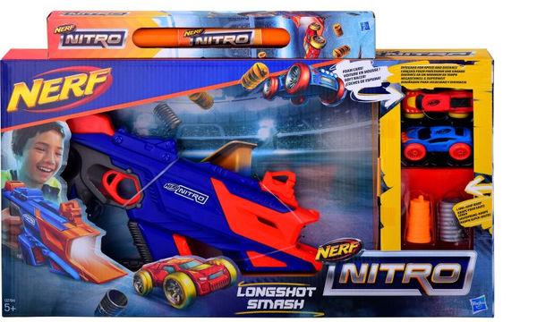 Ιδέες για πασχαλινή λαμπάδα: Αγορίστικη λαμπάδα Nerf Nitro Εκτοξευτής Longshot Smash