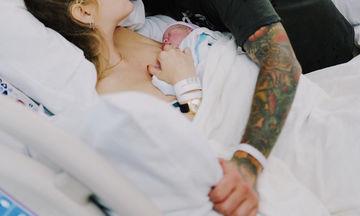 Έγινε μαμά! Ο γιος της ήρθε στον κόσμο νωρίτερα και πλέει σε πελάγη ευτυχίας