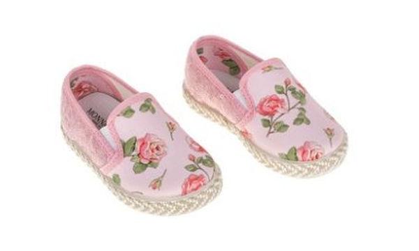 Υπέροχα ροζ παπούτσια για τις βαφτιστήρες σας
