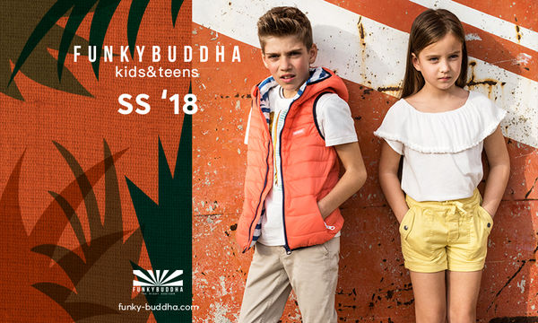 H Funky Buddha λανσάρει την πρώτη της παιδική συλλογή « kids&teens 6+ »
