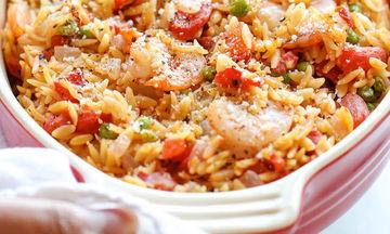 Νηστίσιμη συνταγή: Γιουβέτσι με γαρίδες