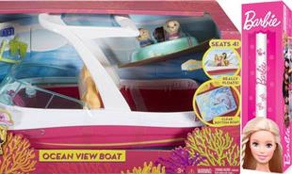 Ιδέες για πασχαλινές λαμπάδες: Barbie Dolphin Σκάφος