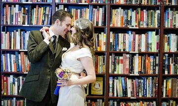 Γάμος σε βιβλιοπωλείο: Για το ζευγάρι που θέλει μια ιδιαίτερη τελετή