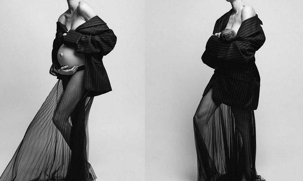 Για πρώτη φορά: Το διάσημο μοντέλο φωτογραφίζεται και δημοσιεύει φώτο πριν και μετά τον τοκετό