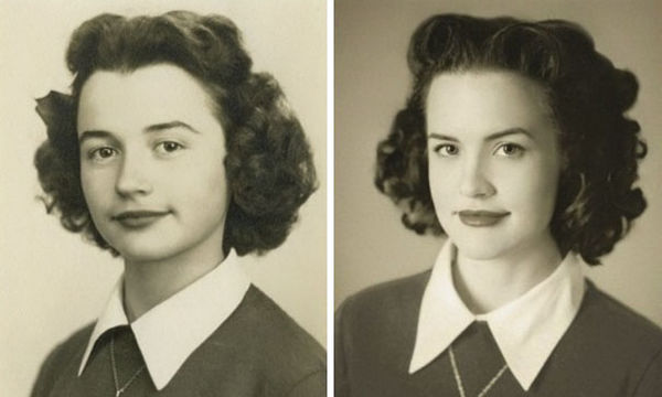 Η απίστευτη ομοιότητα εγγονιών με παππούδες θα σας αφήσει με το στόμα ανοιχτό (pics)