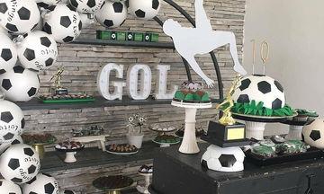 Τούρτες γενεθλίων και ιδέες διακόσμησης με θέμα το ποδόσφαιρο
